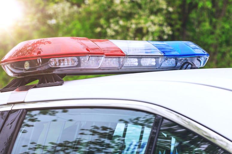 Police, Patrol Car, Sirens, Red, Blue, Lights