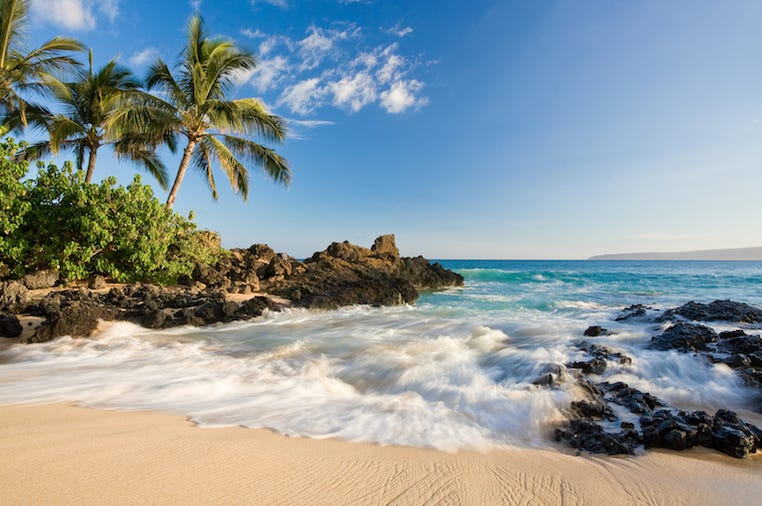 Tropical, Beach, Island, Hawaii
