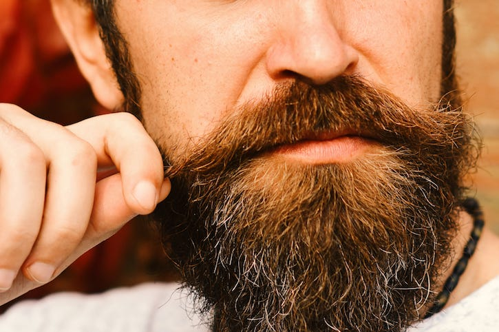 Macho, Beard, Mustache