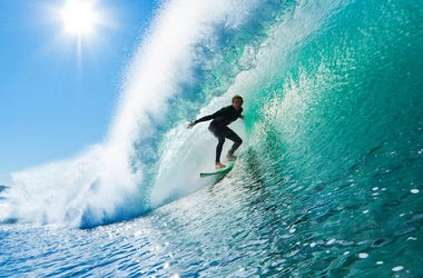 Male, Surfer, Wave, Surfing