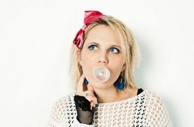 1980s, Woman, Bubblegum, 80s