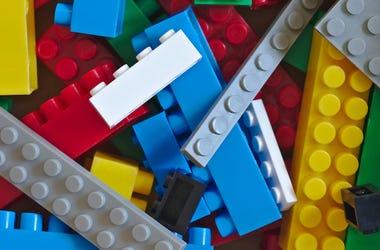 Legos, Bricks, Close Up, Toys