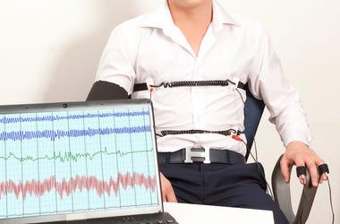 Male, Lie Detector, Polygraph, Computer