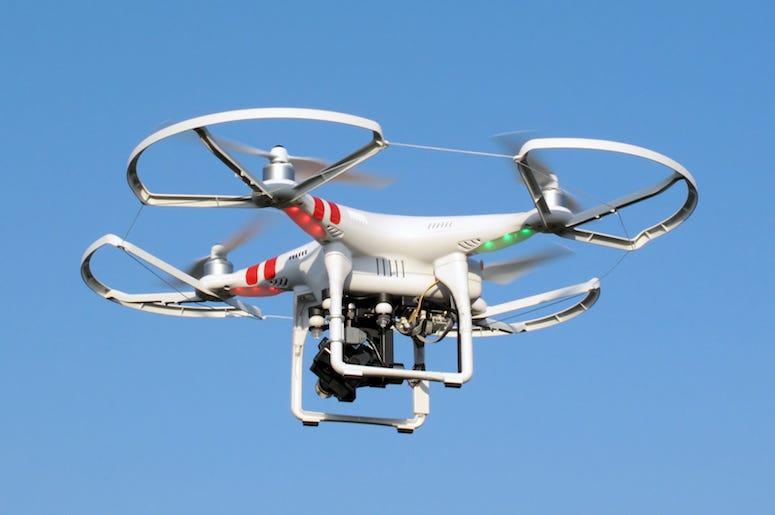 Drone, Flying, Sky