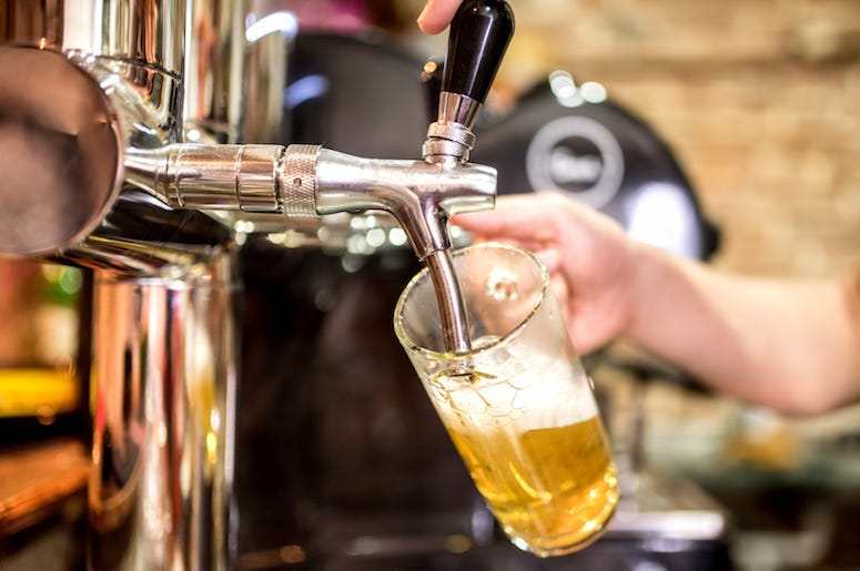 Bartender, Pour, Draught, Beer, Tap, Mug, Bar
