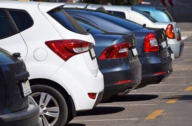 Cars, Generic, Parking Lot, Rear