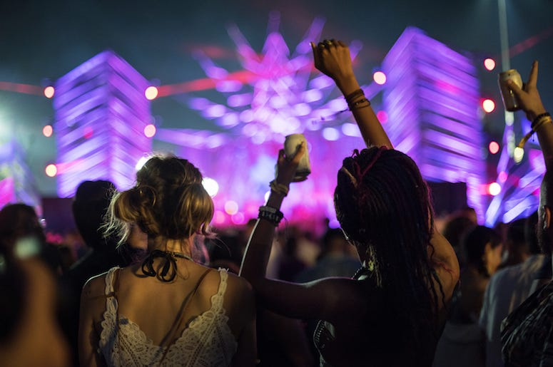 Music Festival, Crowd, Audience