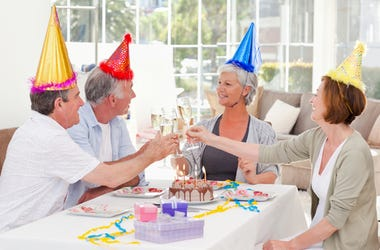 Birthday Party For Old People
