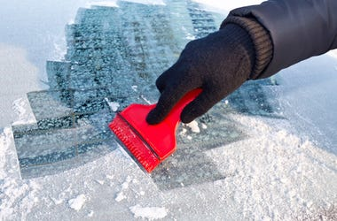 Scraping Ice
