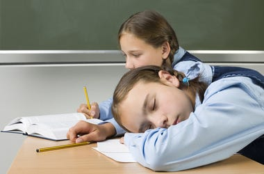 Kids Sleeping in Class