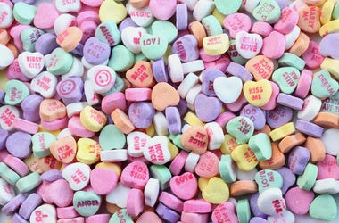 Sweethearts, Candy, Valentine's Day, Hearts