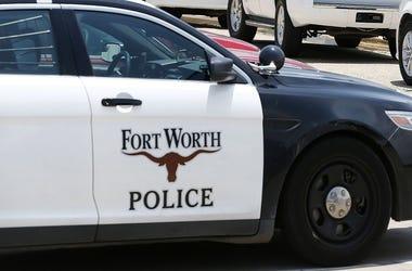 Fort Worth police car
