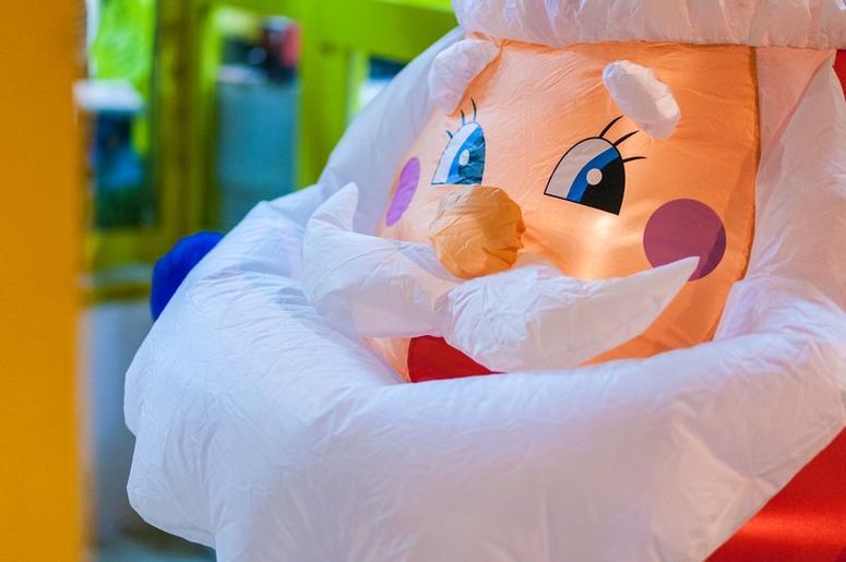 inflatable santa