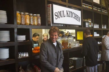 Jon Bon Jovi at JBJ Soul Kitchen in Red Bank