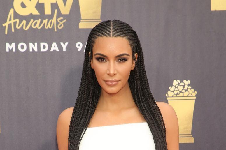 Kim Kardashian Bakes in underwear