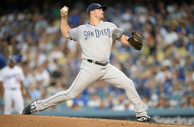 San Diego Padres starting pitcher Jacob Nix