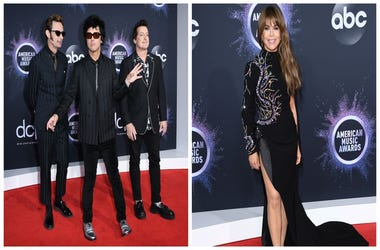 (Left) Green Day, Paula Abdul (Right)