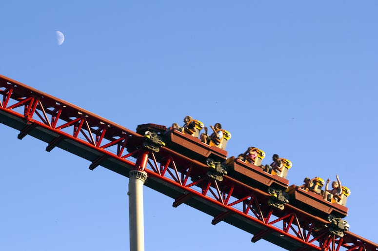 Roller Coaster, Amusement Park, Ride