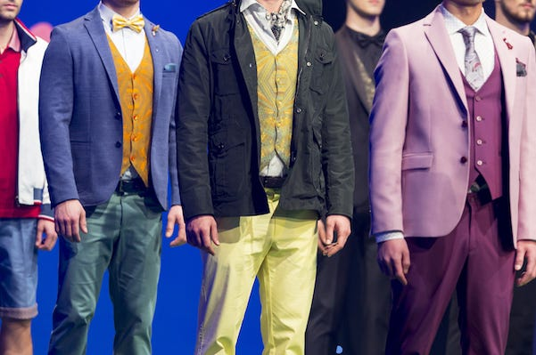 Male, models, fashion, runway, clothes