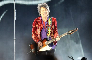 Ronnie Wood, Rolling Stones, Guitar