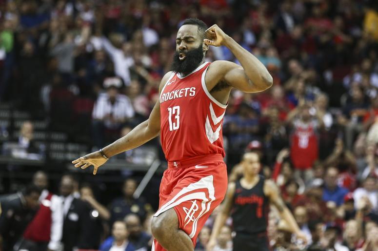 Houston Rockets Player Dances