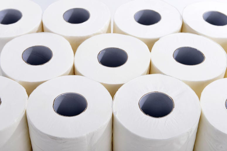 Toilet Paper, Toilet, Bathroom