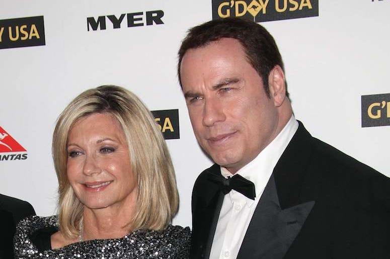 John Travolta, Olivia Newton-John, Red Carpet