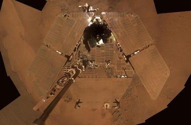 Mars Rover, Opportunity, Selfie, Solar Panels, Mars, 2011