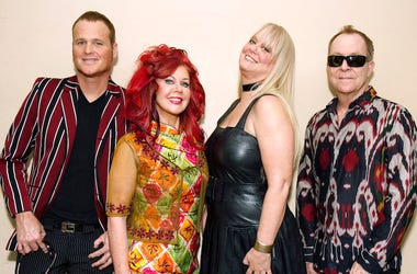 The B-52's, Promo, Pose, Backstage, The Fox Theater, 2012