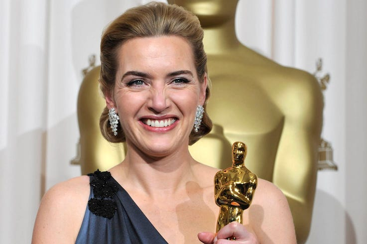 Kate Winslet, Academy Awards, Oscar, Smile, 2009