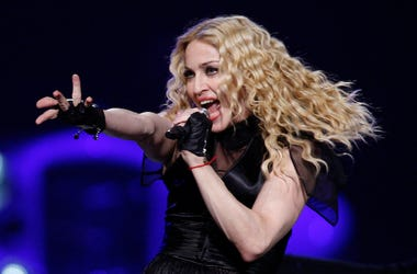 Madonna, Live, Concert, Singing, Wachovia Center, Philadelphia, 2008