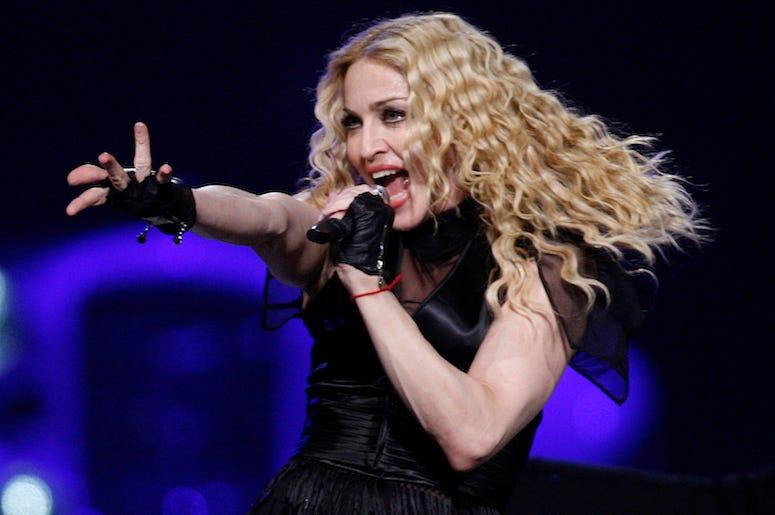 Madonna, Live, Concert, Singing, Wachovia Center, Philadelphia, 2008