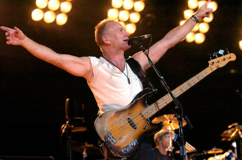 Sting, The Police, Concert