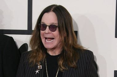 Ozzy Osborne, Grammy Awards, Huge Smile, Red Carpet, 2014