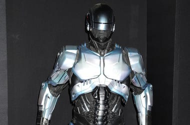 RoboCop, Costume, Suit, Movie Premiere, Display, 2014