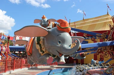 Dumbo, Ride, Disney World, Disney