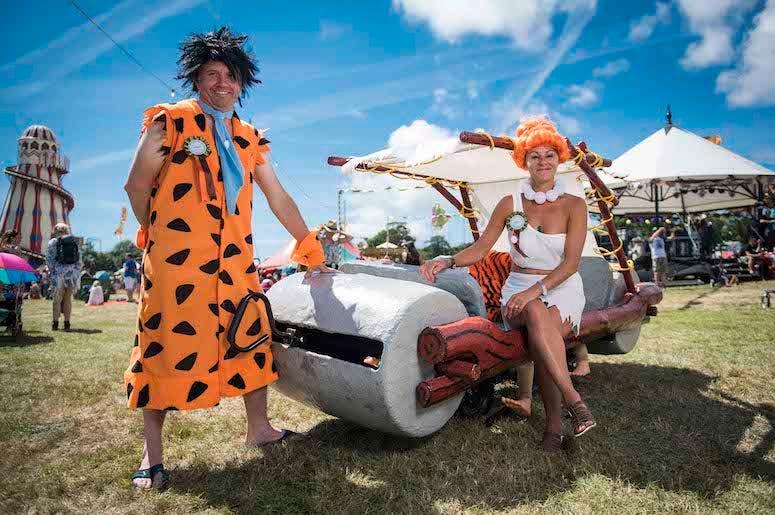 The Flintstones, Costumes, Festival, Music, Outdoors, Flintstone Mobile, Fred Flintstone, Wilma Flintstone