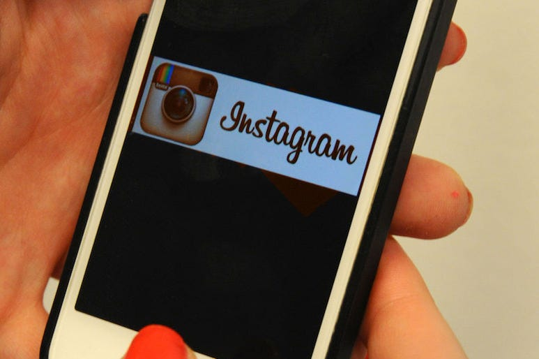Instagram, Logo, iPhone, Woman, 2015