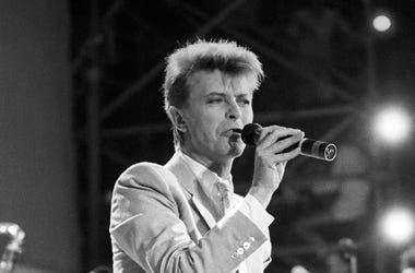 David Bowie, Concert, Singing, 1986