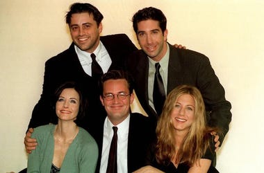 Friends, NBC, Matt LeBlanc, David Schwimmer, Courteney Cox, Matthew Perry, Jennifer Aniston