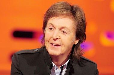 Paul McCartney, Smiling, Talking