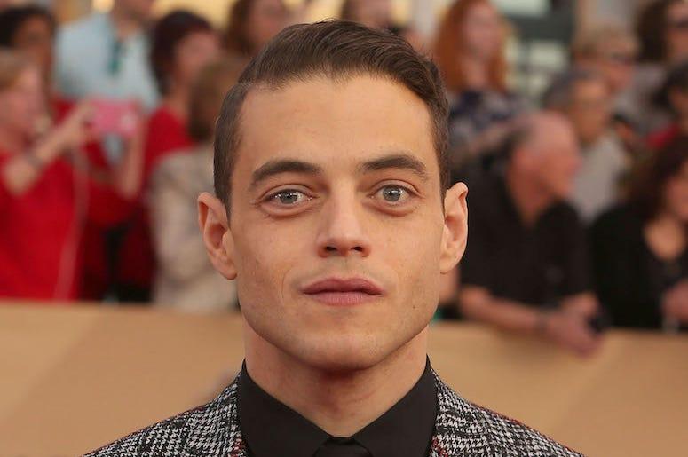 Rami Malek, Suit, SAG Awards, Red Carpet