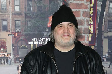 Artie Lange, Red Carpet, Crashing, Premiere, Beanie, Leather Jacket, 2017