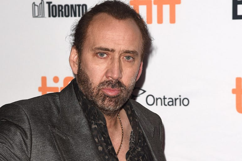 Nicolas Cage, Red Carpet, Mom and Dad, Premiere, 2017