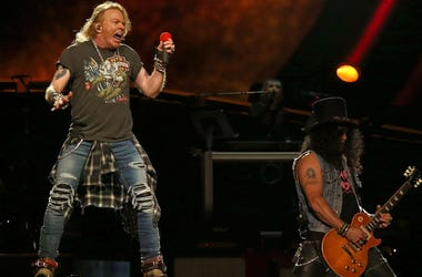 Axl Rose, Slash, Guns N Roses, Concert, Madison Square Garden, 2017