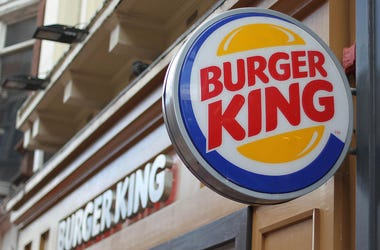 Burger King, Restaurant, Sign, Logo