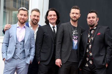 NSYNC, Lance Bass, Joey Fatone, JC Chasez, Justin Timberlake, Chris Kirkpatrick, Star, Hollywood, Walk of Fame