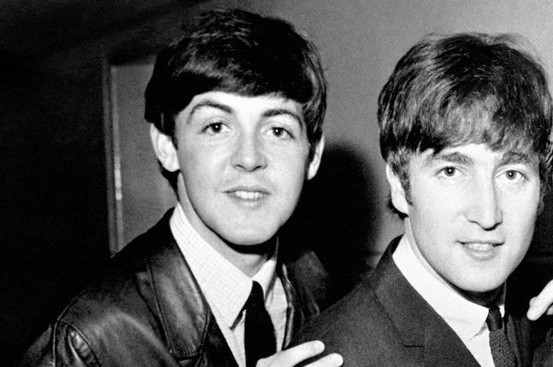 John Lennon, Paul McCartney, The Beatles