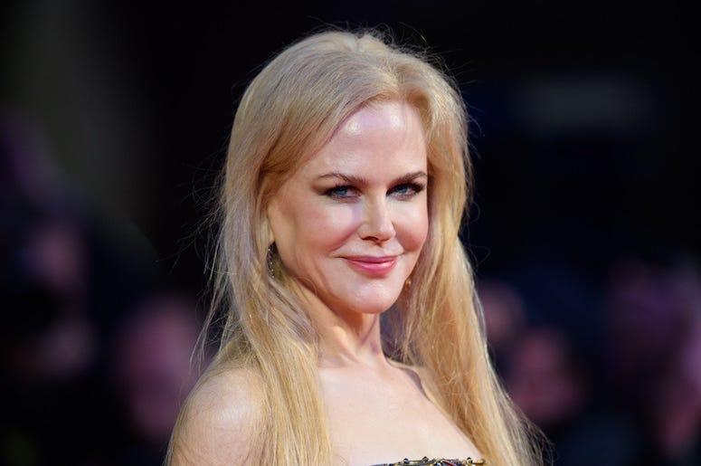 Nicole Kidman, Smile, Red Carpet