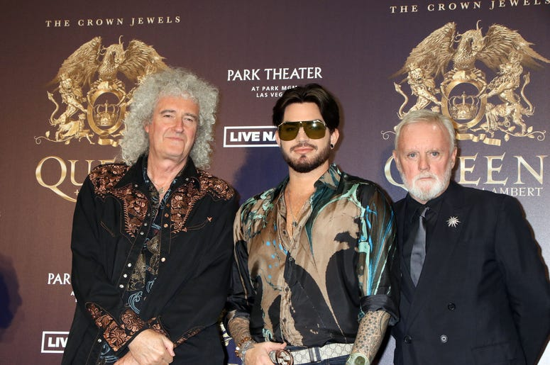 Brian May, Adam Lambert, Roger Taylor